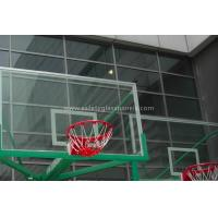 "Wholesale Inground Basketball Hoops 54"" Tempered Glass Backboard / Glass Basketball Goals from china suppliers"