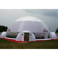 Wholesale White Blue Dome PVC Tarpaulin Inflatable Party Tent With Any Kind Of Size from china suppliers