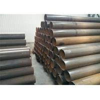 Buy cheap Hot Dipped Electric Resistance Welding Pipe Carbon Steel Material For Sewage Disposal Plant from wholesalers