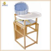 Wholesale Adjustable Wooden Baby Feeding Chair Portable / Space Saving High Chair from china suppliers
