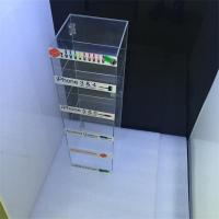 Wholesale manufacturing acrylic USB cell phone accessory display from china suppliers