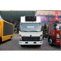 Wholesale Howo Light Refrigerated Cargo Truck  3 Ton Capacity 4X2 Driving Type from china suppliers