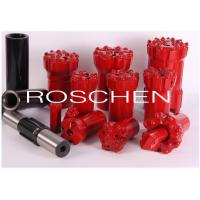 Wholesale R32 42 43 44mm Button Bit Top Hammer Drilling With Alloy Steel / Tungsten Carbide from china suppliers