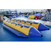 Wholesale 10 Persons Double Tubes Inflatable Banana Boat With Commercial Grade PVC Tarpaulin from china suppliers