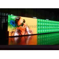 Wholesale Customized HD P4 Indoor Advertising LED Display Full Color LED message board Front / Back Service from china suppliers