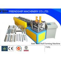 Wholesale Custom Metal Forming Machinery , Steel Track Rroll Forming Machine from china suppliers