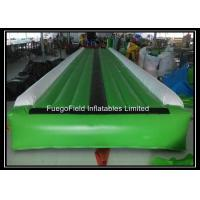 Wholesale Green and Black Children Inflatable Air Track , Inflatable Race Track from china suppliers