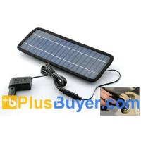 Wholesale Emergency USB Solar Battery Charger with Car Cigarette Lighter Adapter from china suppliers