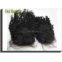 Wholesale Customized Virgin Human Hair Full Lace Wigs With Baby Hair , Natural Black 1b# from china suppliers