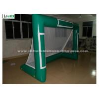 Wholesale Commercial Use Inflatable Goal For Water Balls With Lead Free 0.9mm Pvc Tarpaulin from china suppliers
