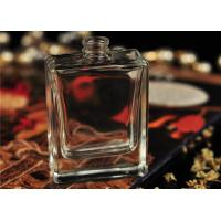 Wholesale Rectangle Glass Spray Perfume Bottles , 50 ML Perfume Bottle Protable from china suppliers