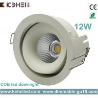 12W COB LED Downlight with 90mm cut out and Angle Adjustable external driver