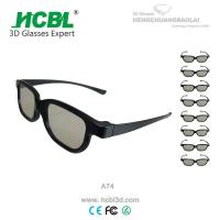 Wholesale Eco - Freindly Real D 3D Glasses Circularly Polarized Logo Printed from china suppliers