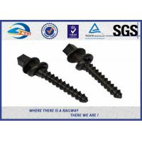 Wholesale Railway Screws Spike Q235 Material For Rail Sleeper, Hexagon Head Screw from china suppliers
