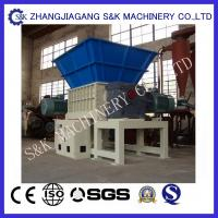 Wholesale Low Noise Recycling Tree Wood Crusher Machine Log Shredder Equipment 15KW from china suppliers