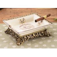 China High End Ceramic Decorations Crafts For House Decorations With Resin Base on sale