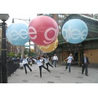 Quality 2m Diameter Colorful Inflatable Advertising Balloons Durable For Parade Events for sale