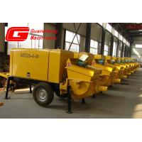 Wholesale Electric motor , diesel engine HBT60S mobile concrete pump from china suppliers