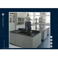 Wholesale Steel Wood Science Lab Furniture Technician Table All Grey Phenolic Resin Top from china suppliers