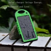 Wholesale Portable waterproof multi solar charger for mobile phone from china suppliers