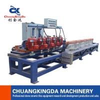 Buy cheap Automatic  Countertop Stone Granite Marble Quartz stone Full Round Edge shaping Polishing Machine CKD Machinery from wholesalers