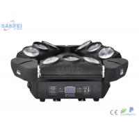 Wholesale LED 9 Eyes RGBW 10W LED Lamp / LED Spider Beam With Customized Color from china suppliers