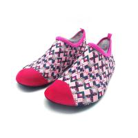 Flexible Red Aqua Foot Water Shoes Outside Pool And Beach Shoes Cozy Feel