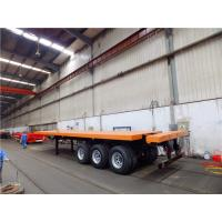 Wholesale 40 foot 20ft shipping container flatbed trailers for sale from CIMC from china suppliers