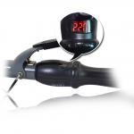 MHD-013B Gray Digital Ceramic Professional hair curler