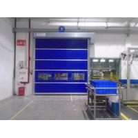 Wholesale Exterior Wind Load Area High Speed Rolling Door With Absolute Encoder 1.2mm PVC from china suppliers