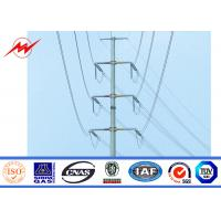 Wholesale Metal Power Pole Electric Galvanized Steel Pole Anti Corrosion 10 KV - 550 KV from china suppliers