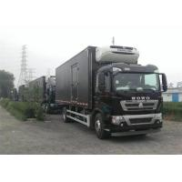 Wholesale Professional Refrigerated Closed Van Truck White / Red / Black Freezer Box Truck from china suppliers