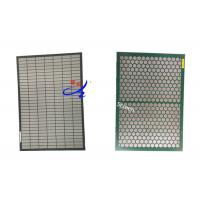 Wholesale FSI Polyurethane Wire Mesh Shaker Screen Panels / Oil Mud Vibrating Screen from china suppliers