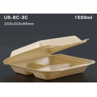 China Disposable plastic tray Take away food packaging container lunch box on sale