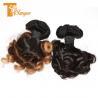 Buy cheap Full Cuticle Funmi Hair, Ombre Spring Curl Grade 10a Peruvian Hair Funmi Hair from wholesalers