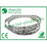 Wholesale 20leds / m DC5V Ws2812B LED Strip Addressable SMD5050 RGB Pixel Strip from china suppliers
