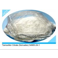 Wholesale 98% High Purity SERMs Steroids Nolvadex / Tamoxifen Citrate 54965-24-1 from china suppliers