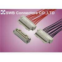 Wholesale One Row Wire to Board Connectors 1.25mm Pitch With Male Gender from china suppliers