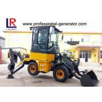 Buy cheap 1Ton Heavy Construction Machinery , Backhoe Wheel Loader with 50HP YUNNEI Engine from wholesalers