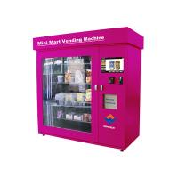Wholesale Prepaid Cards Cigarette Vending , Advanced Remote Control Cosmetics Vending Services Kiosk from china suppliers