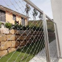 Wholesale AISI316 rust-proof x-tend cable wire mesh railing guard from china suppliers