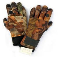 Wholesale 2MM Camo Neoprene Hunting Gloves Shark Skin With Velcro Closure from china suppliers