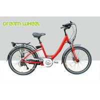 Wholesale Gear Motor Electric City Bike 48V 500W With Tektro Hydraulic Disc Brake from china suppliers