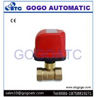 """Wholesale DN20 G3/4"""" Quick Installation Electric Ball Valve For Apartment Heater System AC220V CR02 3 Wires Control from china suppliers"""
