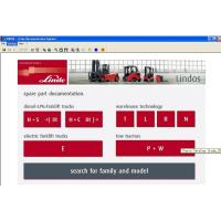 Wholesale Linde Forklift Diagnostic Tools , Linde Lindos 2013 Parts Catalog EPC from china suppliers
