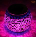 Decorative Solar Mosaic Light solar powered garden lights