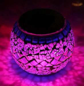 Quality Decorative Solar Mosaic Light solar powered garden lights for sale