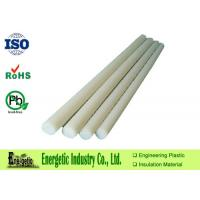 Buy cheap High Temperature PVDF Rod , Natural White Polyvinylidene Fluoride Rod from wholesalers