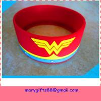 Wholesale 1 inch debossed silicone bands with color from china suppliers