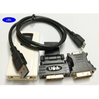 Wholesale Multi Display Graphic VGA / HDMI / DVI To USB 3.0 Adapter Full HD PVC TPU Material from china suppliers